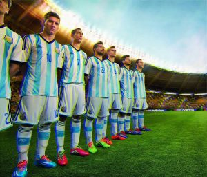 Argentina FIFA World Cup 2018 Team